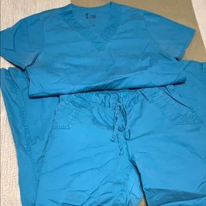 Scrub set. Top and pant